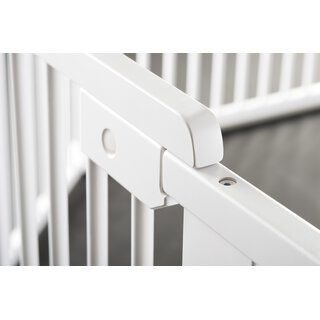 ONE4all 1+1 WHITE ? Safety Gate / Stair Gate / Barrier / Guard