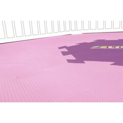 Mat for hexagonal playpens, dimensions:170 x 150 cm