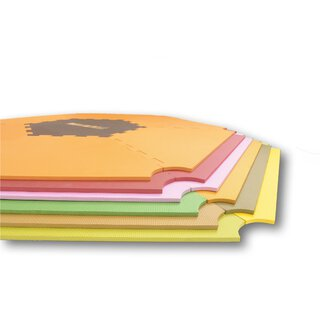 ¡Mattimo! Mat perfect fit for playpens Strolch and ONE4all 1+5 green/yellow